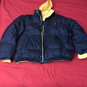 Nautica Jackets Coats Vintage Puffer Reversible Jacket Coat